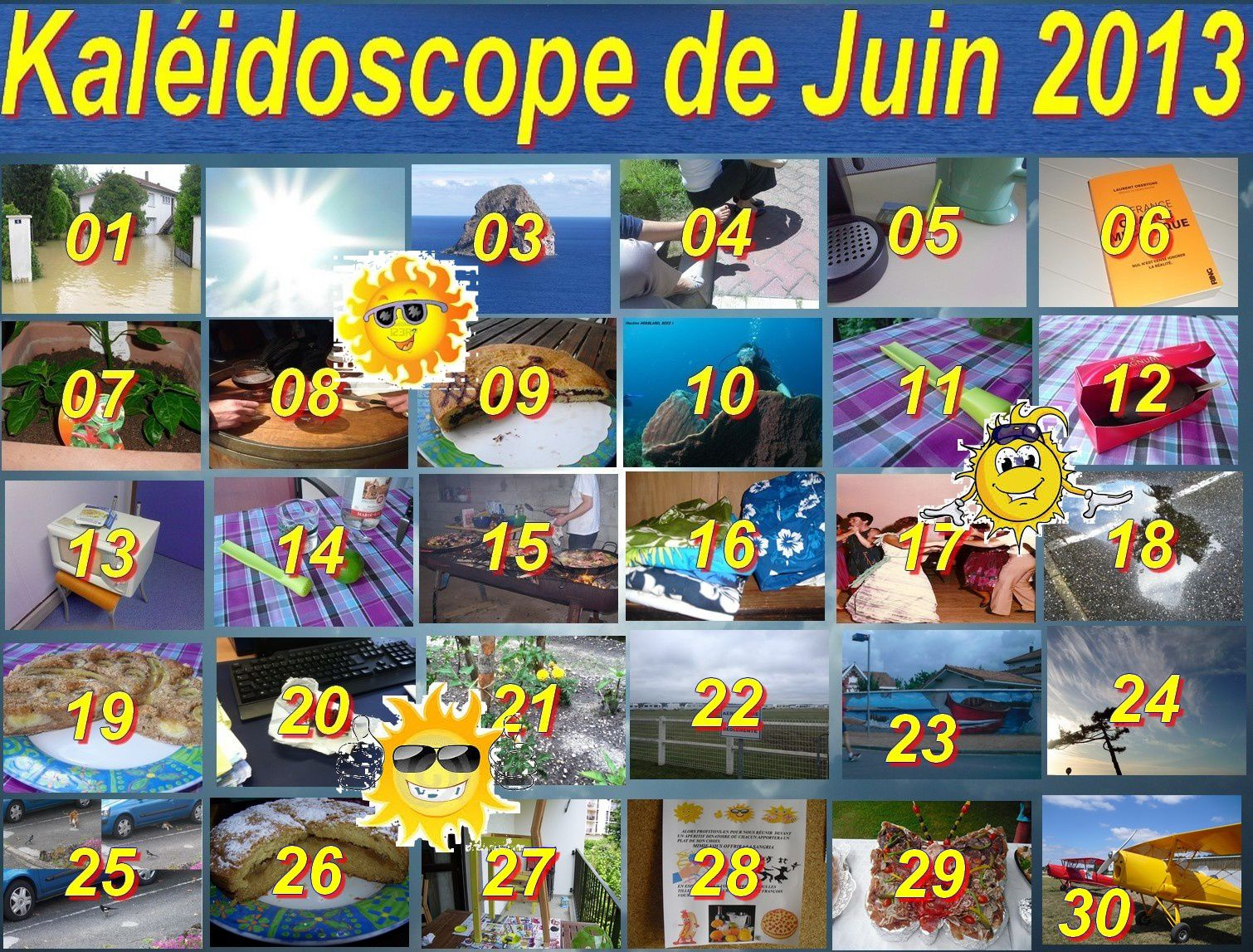 Kaléidoscope juin 2013