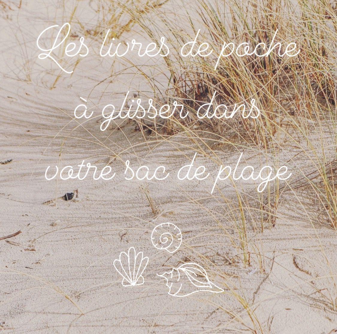 Les livres de poche à glisser dans votre sac de plage