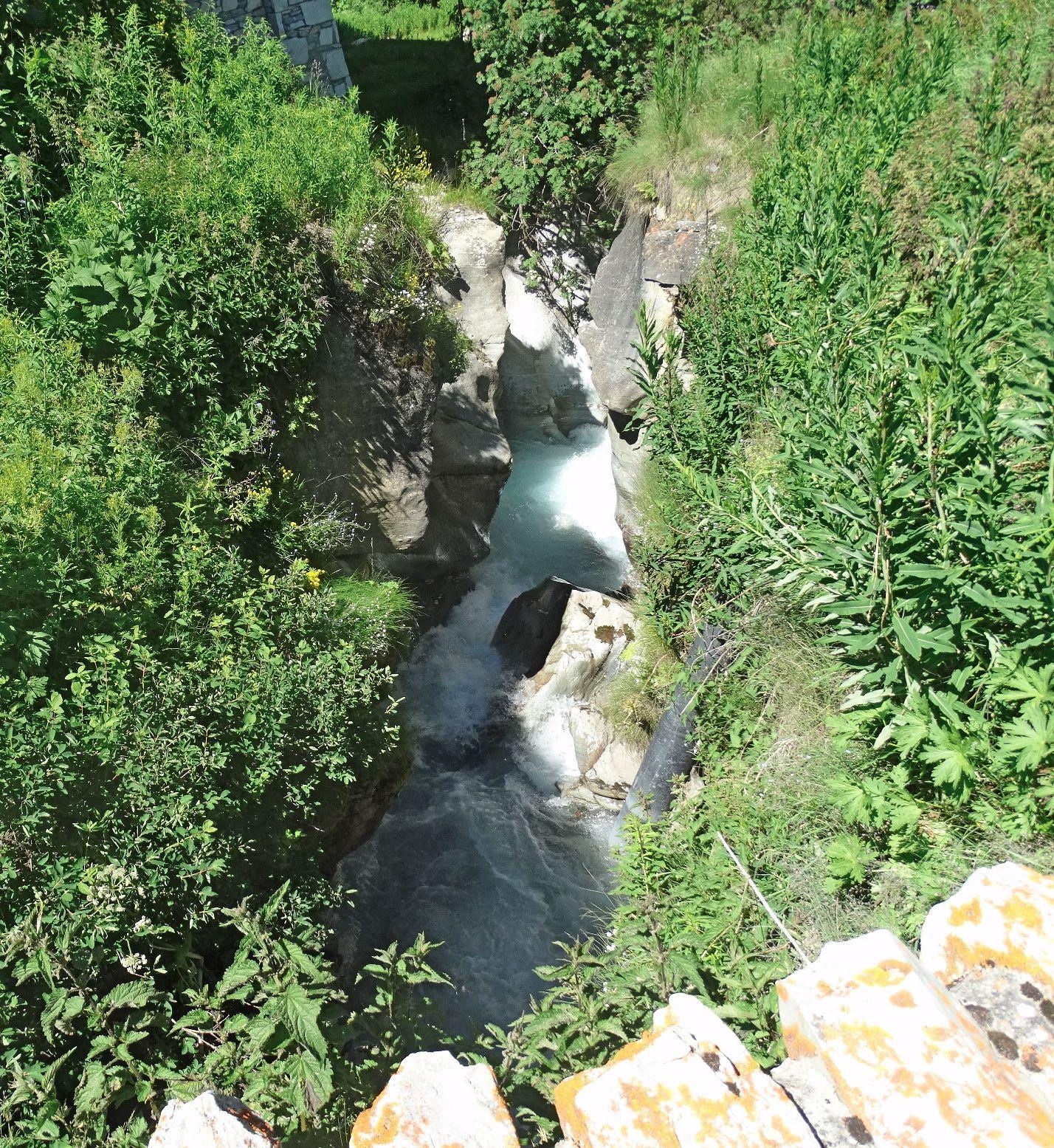 Clocher Val d'Isère, Fleurs Alpines, Panoramas, hameau de Laisinant, papillon, hameau du Fornet, Isère au Fornet