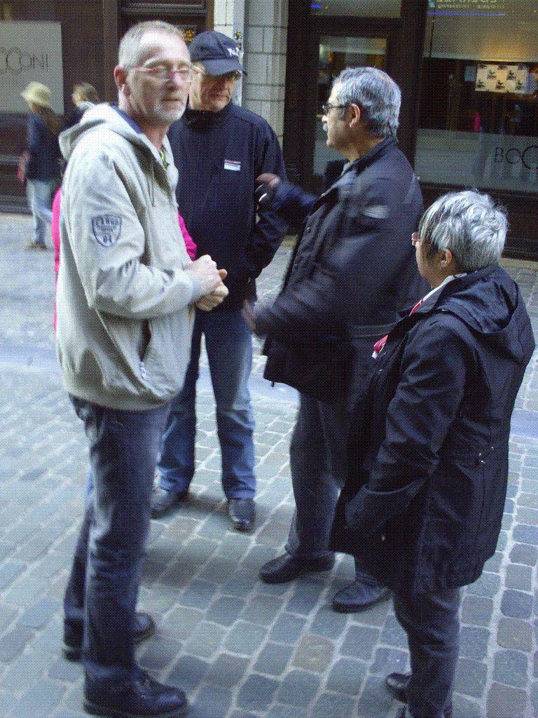 Première photo de notre Chean Marie à Bruxelles