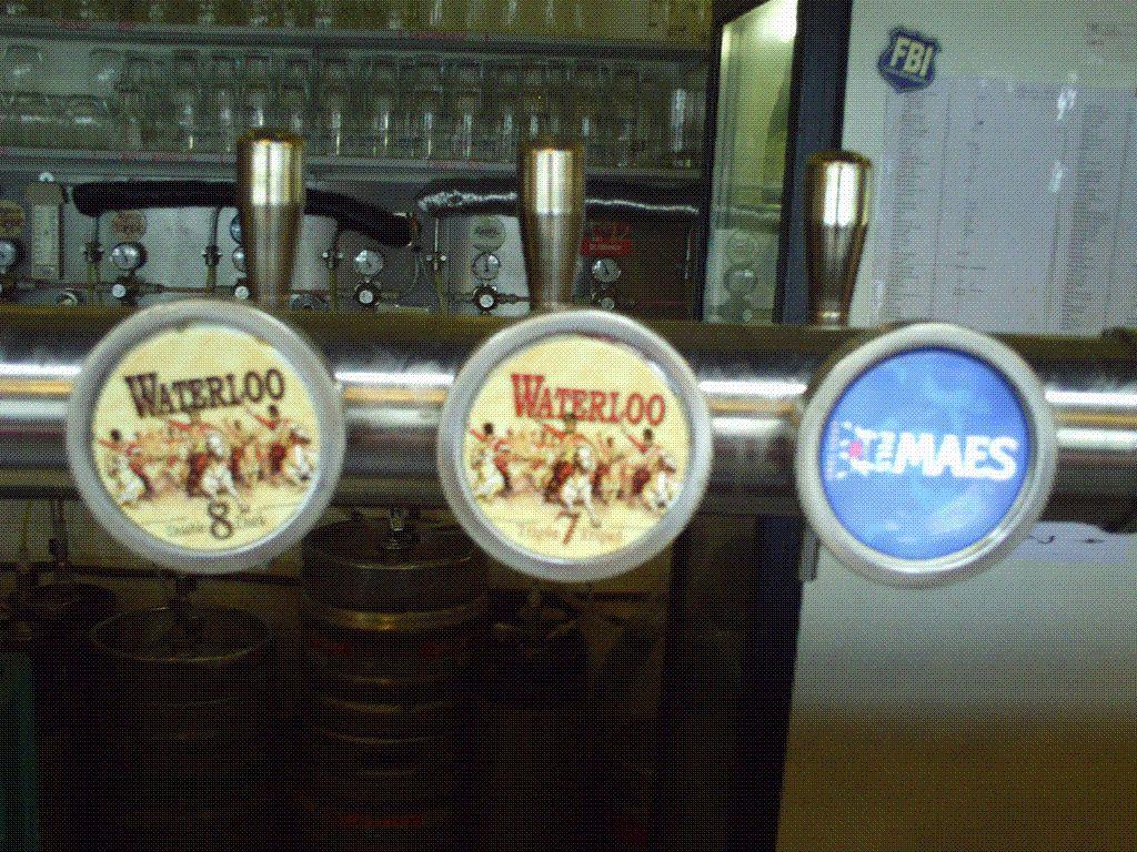 Même la bière a sa bataille ou le contraire