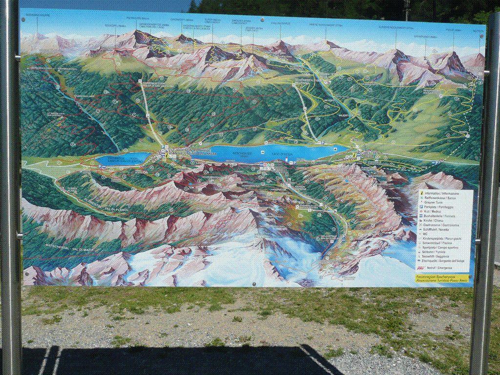 Goldwing Unsersbande - Direction le col du Stelvio via le lac di Resia (1ère partie)