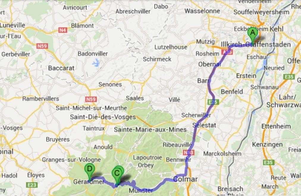 119 kms à faire à la sortie du boulot