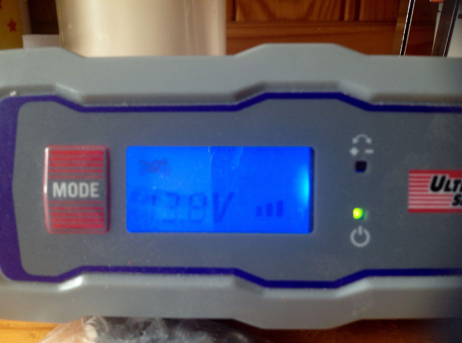 Goldwing 1800 - Changer la batterie 12V 18AH