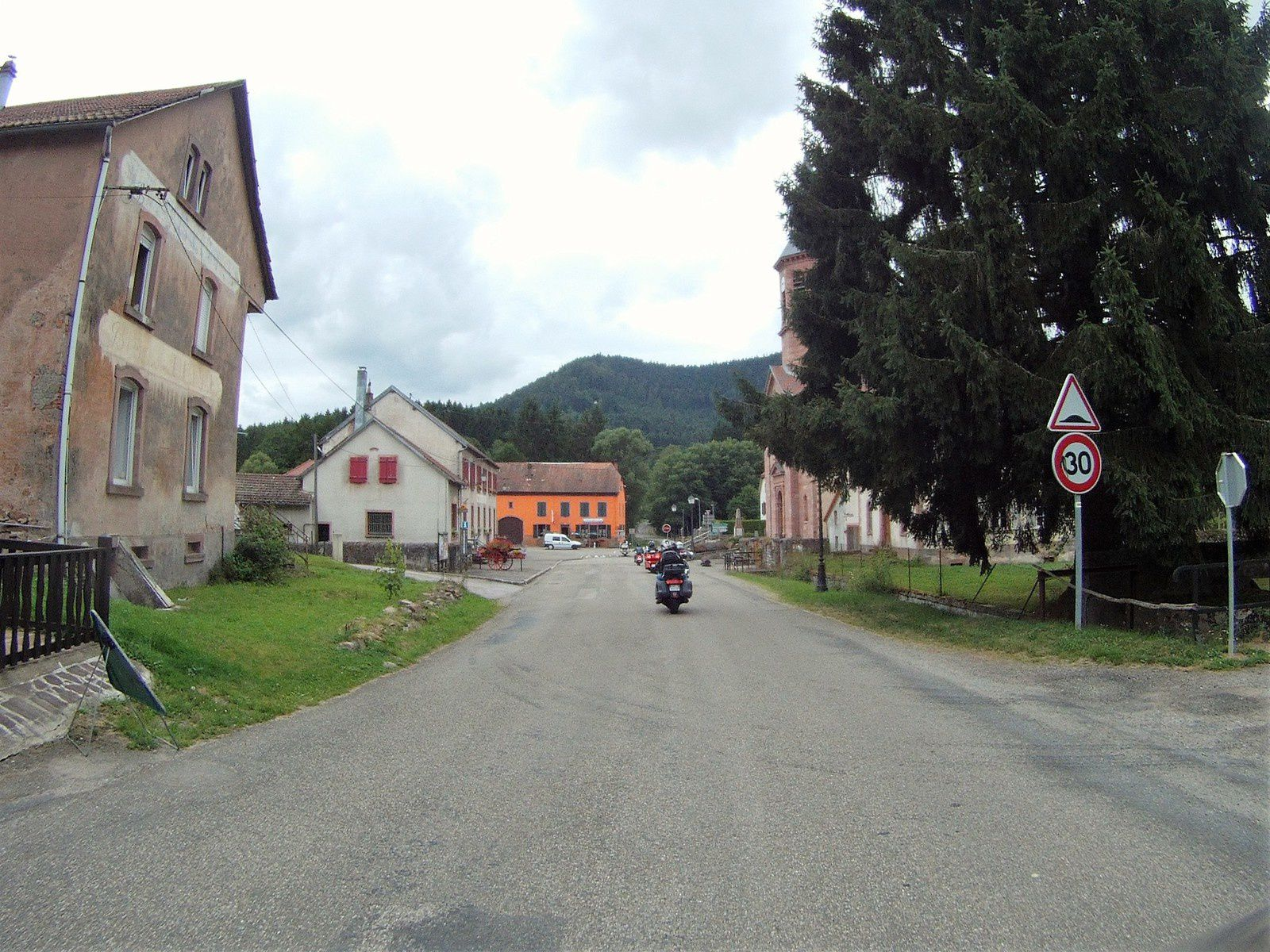 Goldwing - ballade au gré du vent, route des vins et dans les Vosges