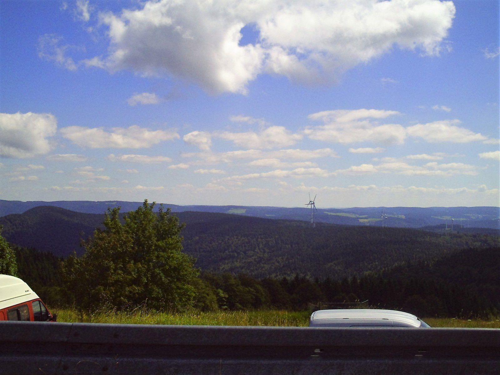 Goldwing - grande sortie dans le Sud de la forêt noire de 326 kilomètres