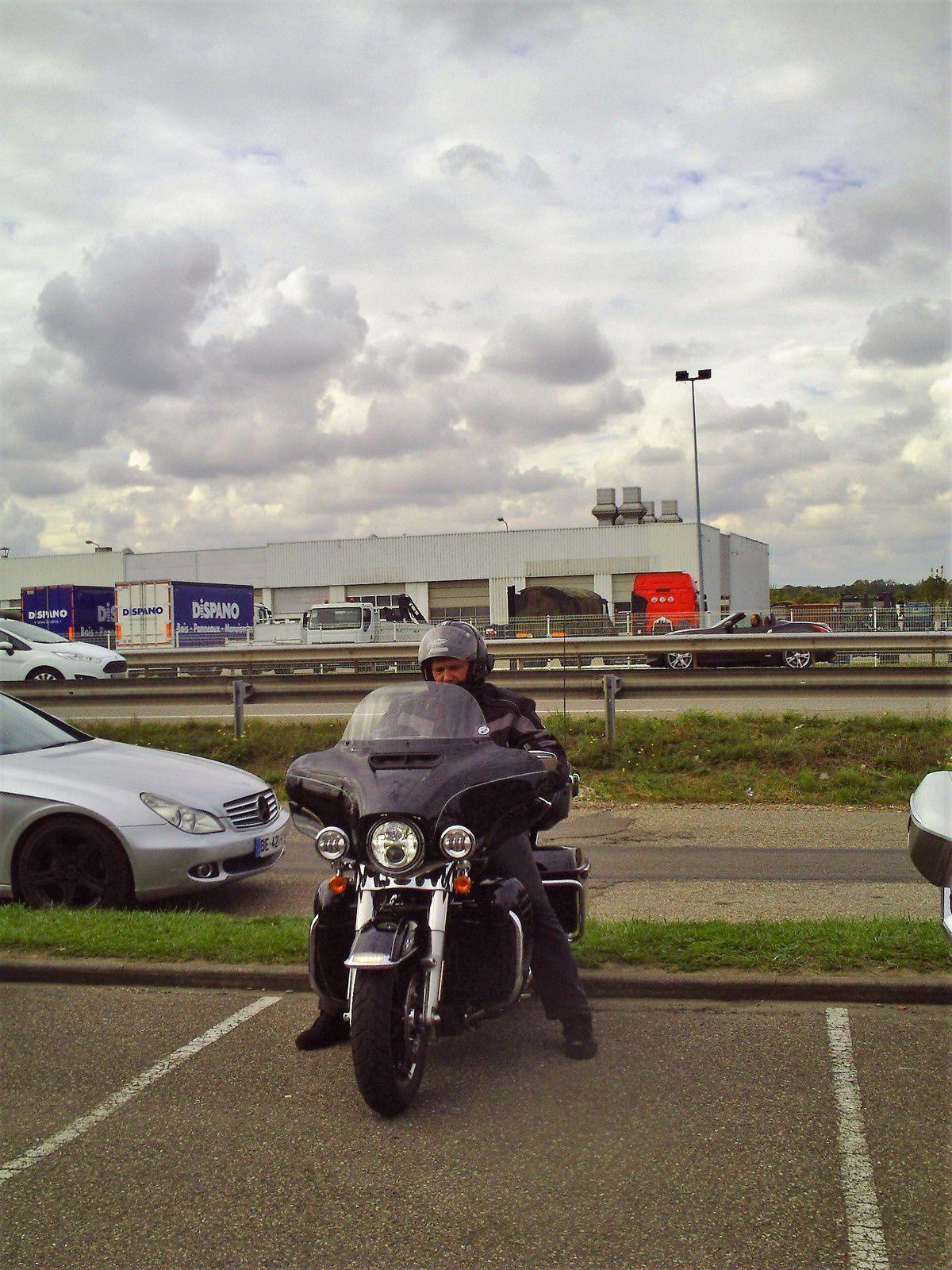 Goldwing - j'ai essayé la fameuse Harley Davidson ultra glide