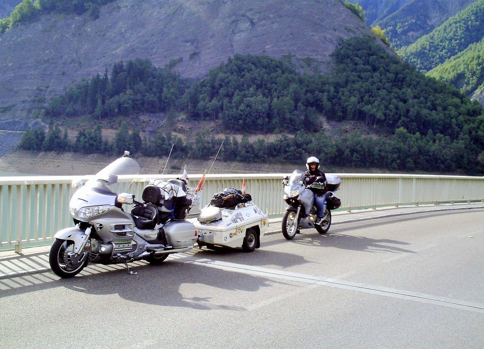 Goldwing - Notre voyage dans les Hautes-Alpes en Goldwing 1800 et Varadero 125 - 2ème jour 1/3