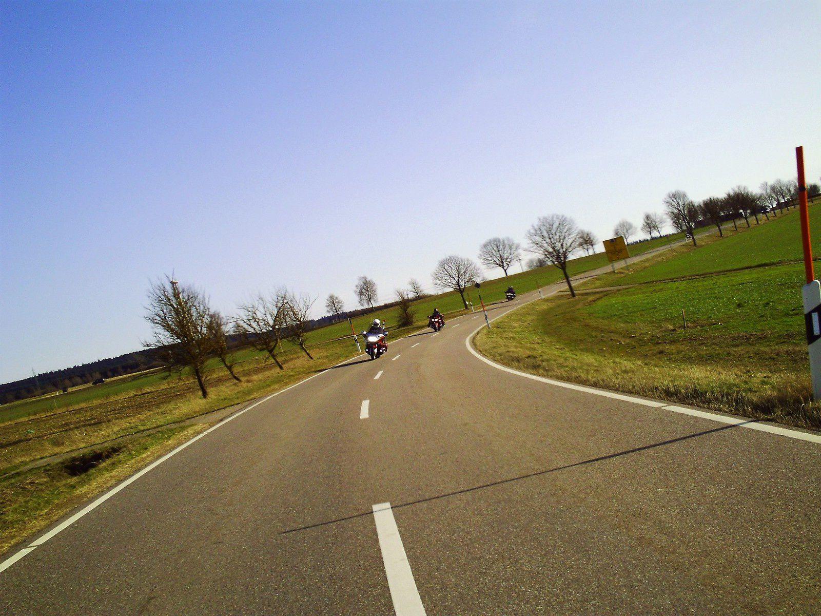 Goldwing Unsersbande - ballade sous le soleil à Rottweil, patrie du Rottweiler