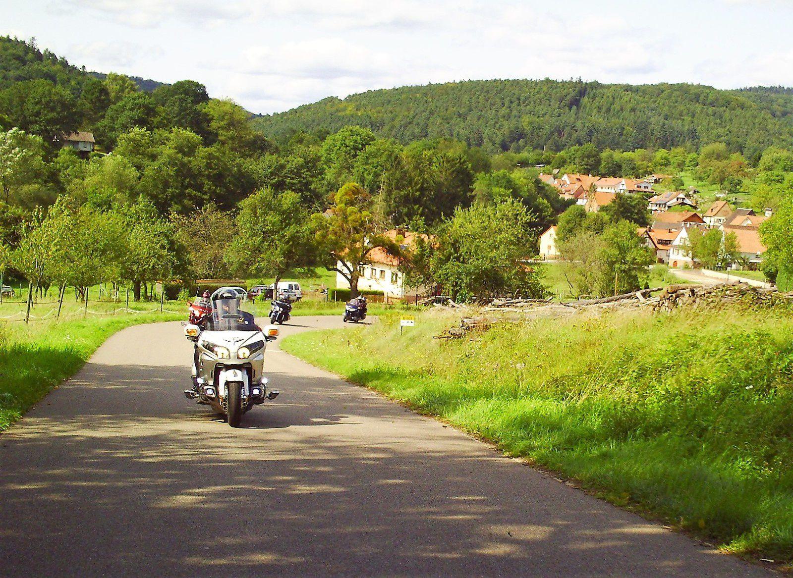 Goldwing Unsersbande - Le Nord Bitche, l'Est Wissembourg et Baden Baden