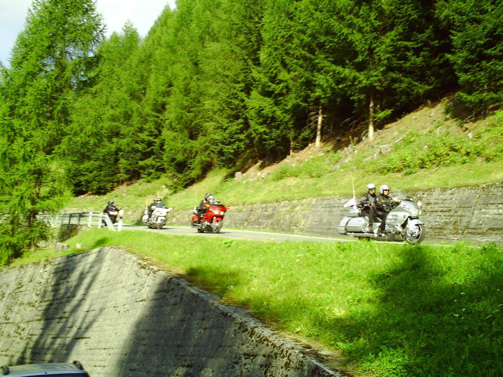 Goldwing Unsersbande - l'Autriche du côté de Nauders, le Stelvio et Livigno 2/4