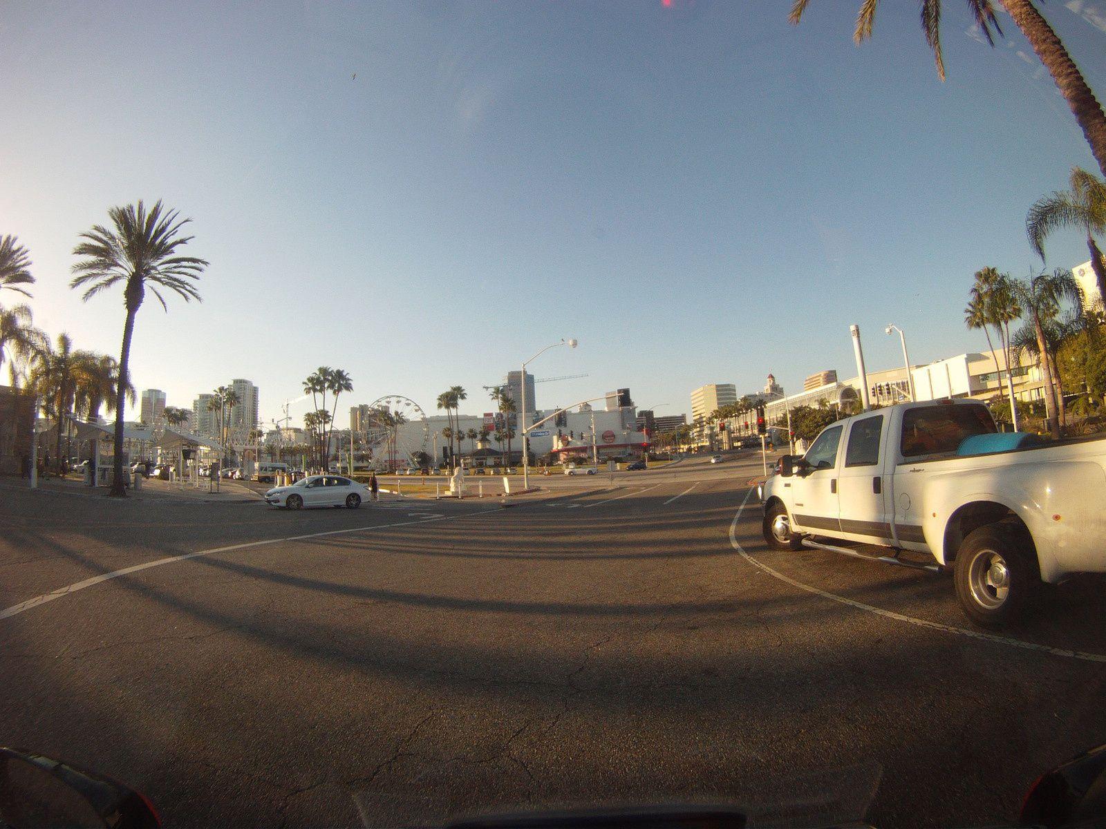 Goldwing Unsersbande - Un couple et une moto dans le Wild West américain - Arrivée Long Beach