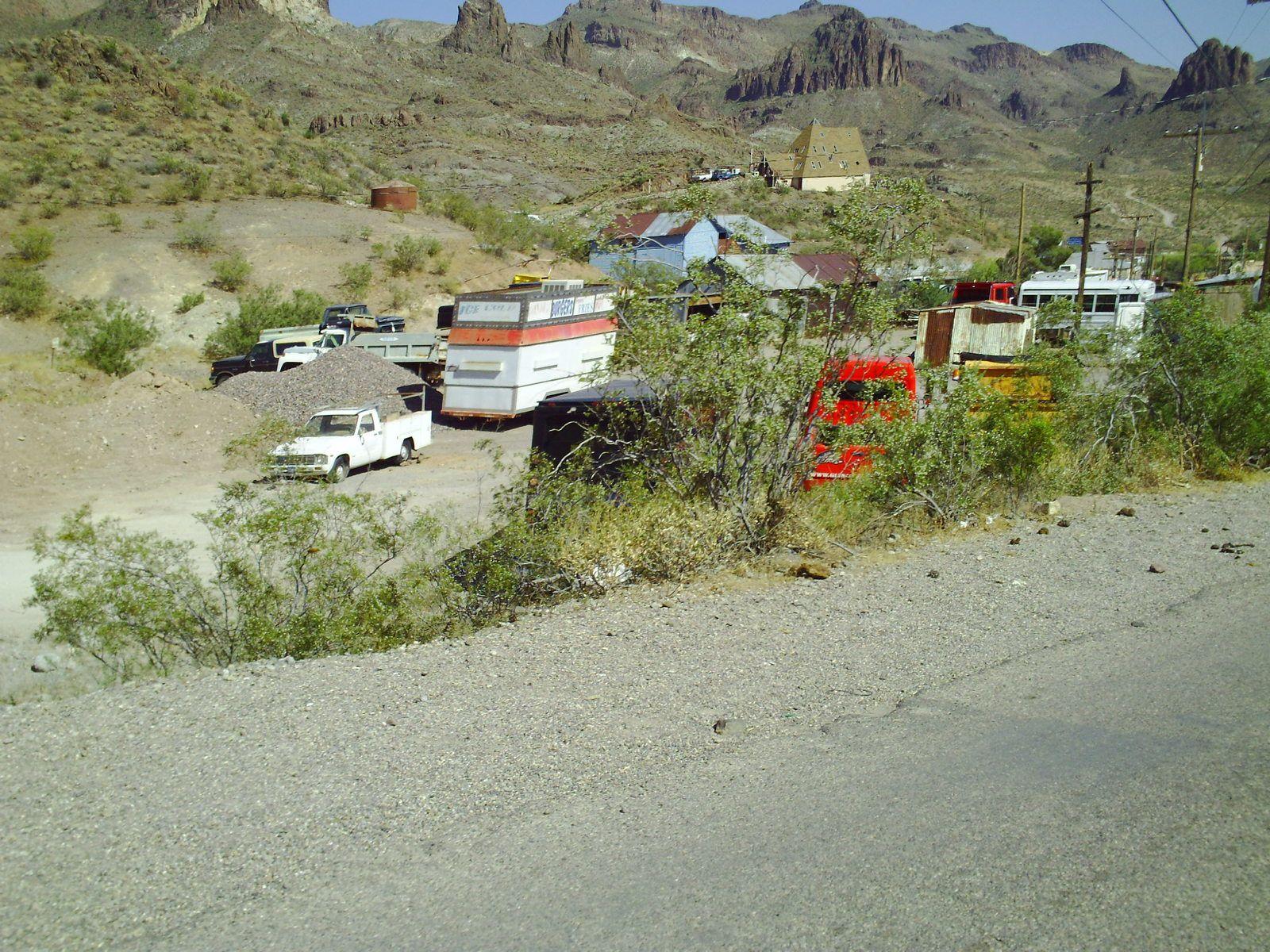 Goldwing Unsersbande - Un couple et une moto dans le Wild West américain 02 jour - Road 66 Kingman