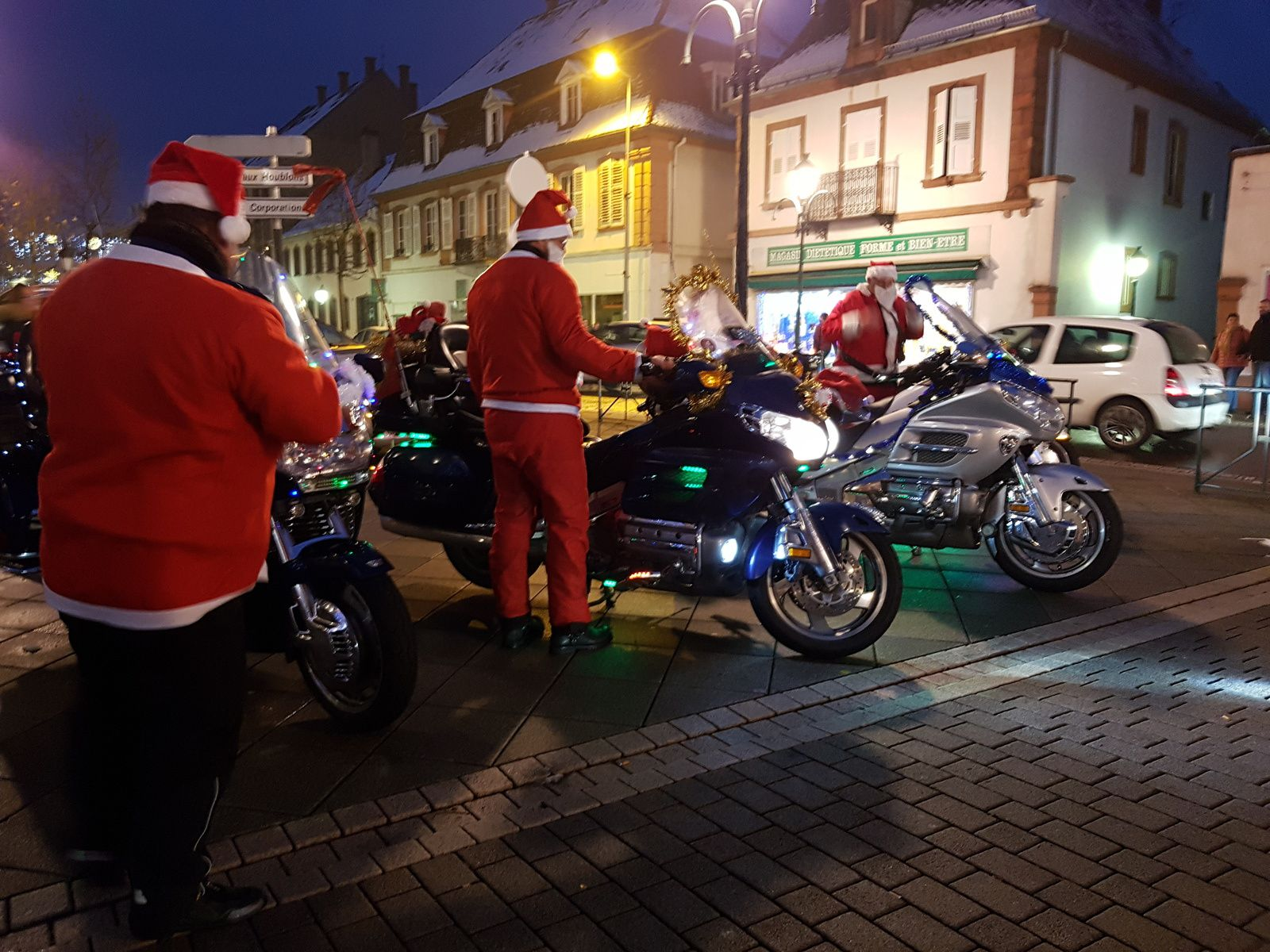Goldwing Unsersbande - Noël 2018