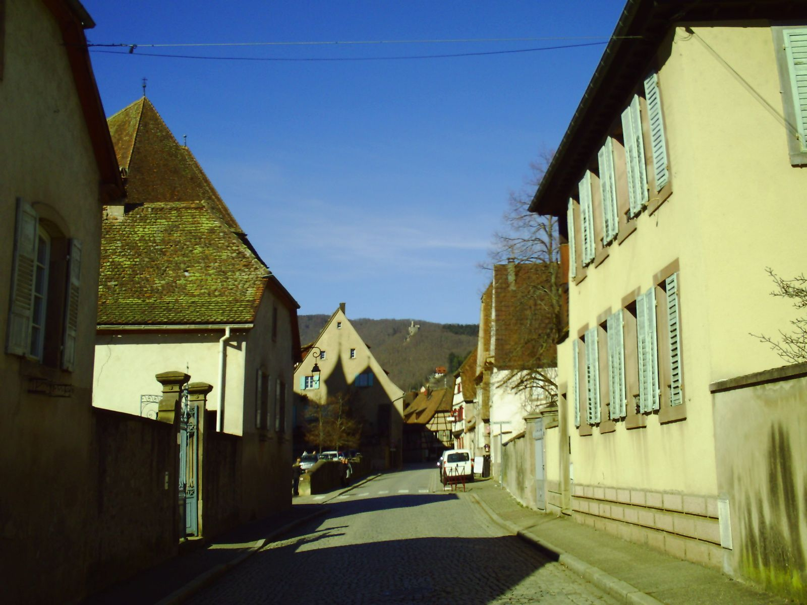 Goldwing Unsersbande - Visite au salon de la moto Andlau et ballade au Champ du Feu enneigé.