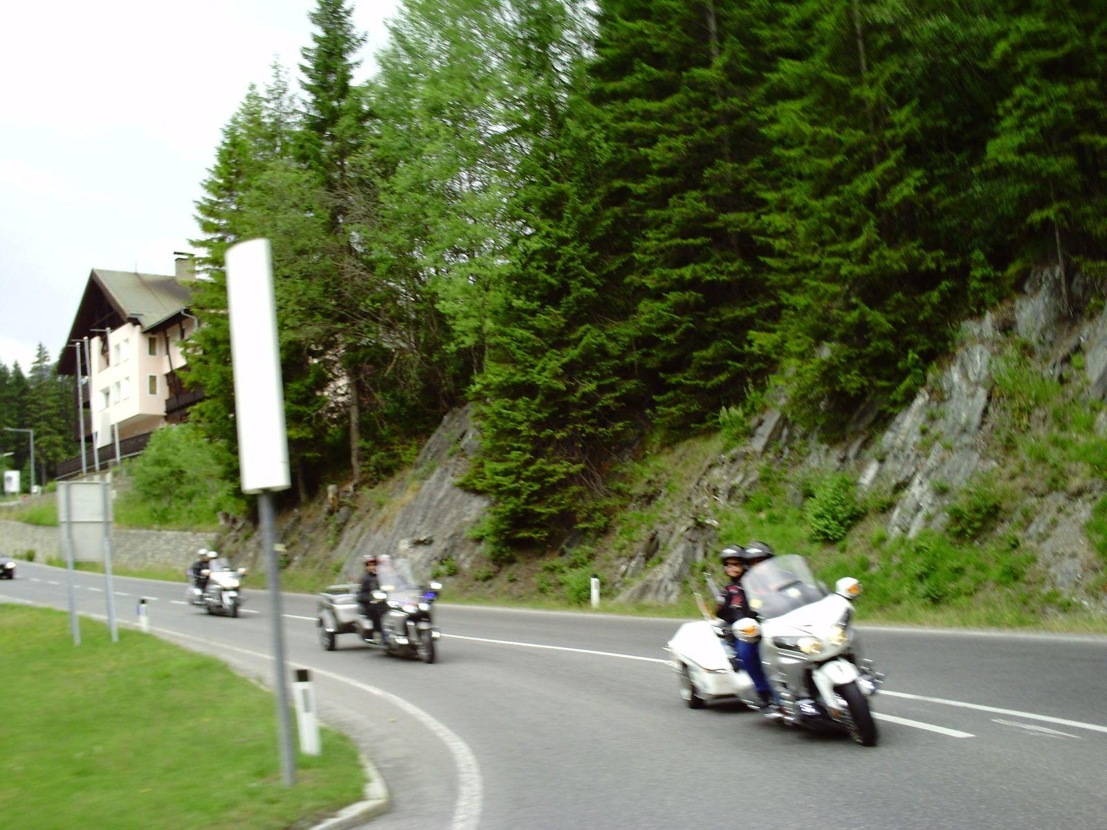 Goldwing Unsersbande - Périple Dolomites et Cinque terre  01 jour départ