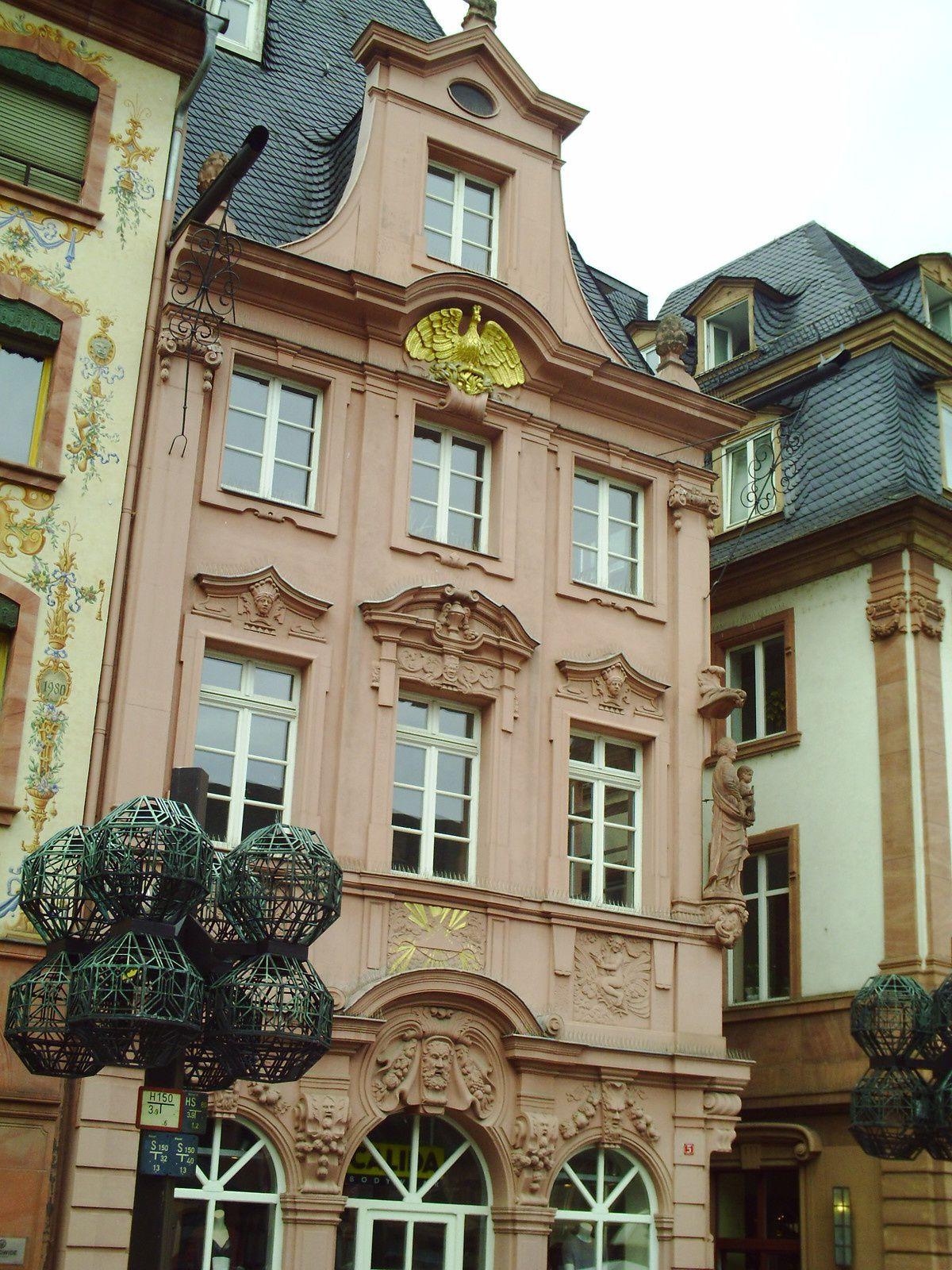 Goldwing Unsersbande - Pâques à Heidelberg (Mayence)