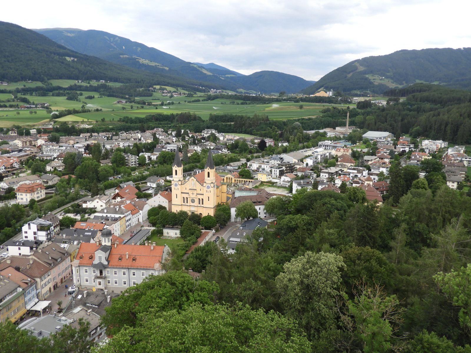 Goldwing Unsersbande - Périple Dolomites et Cinque terre  3° day Téléski et Brunico
