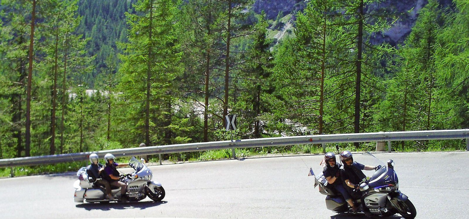 Goldwing Unsersbande - Périple Dolomites et Cinque terre 5th day Laggo Misurina et Cortina d'ampezzo