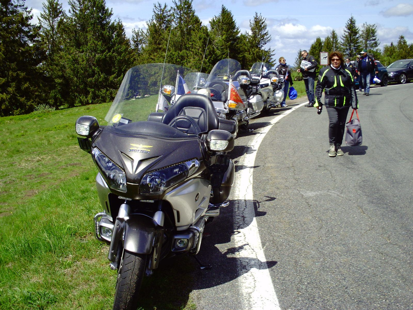 Goldwing Unsersbande - Ballade suite dé-confinement Covid19