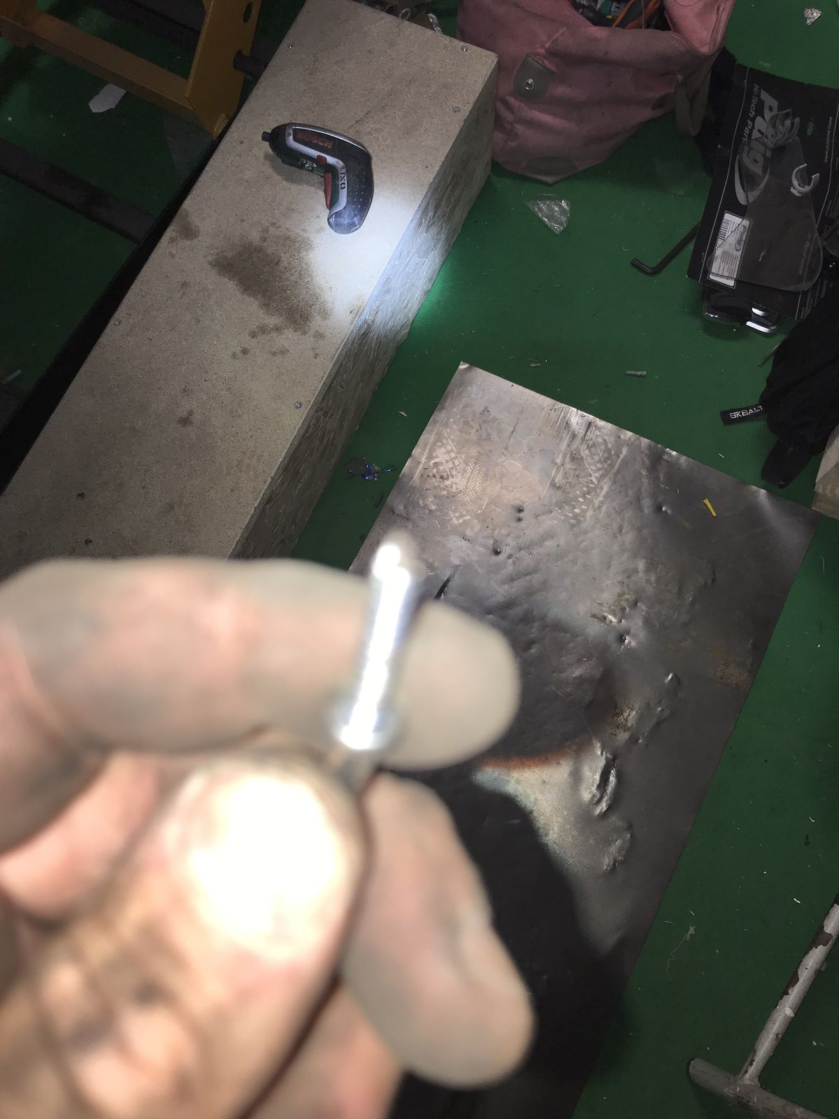 Goldwing Unsersbande - 1800 vase d'expansion du liquide de refroidissement percé