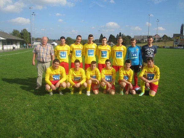 Les 11 équipes du RFC Bioul 81 de la saison 2014-2015.
