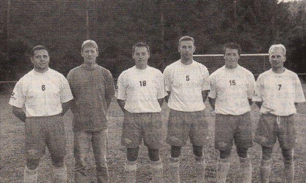 Manu Rousselle et ses équipiers arrivés avec lui en 1999