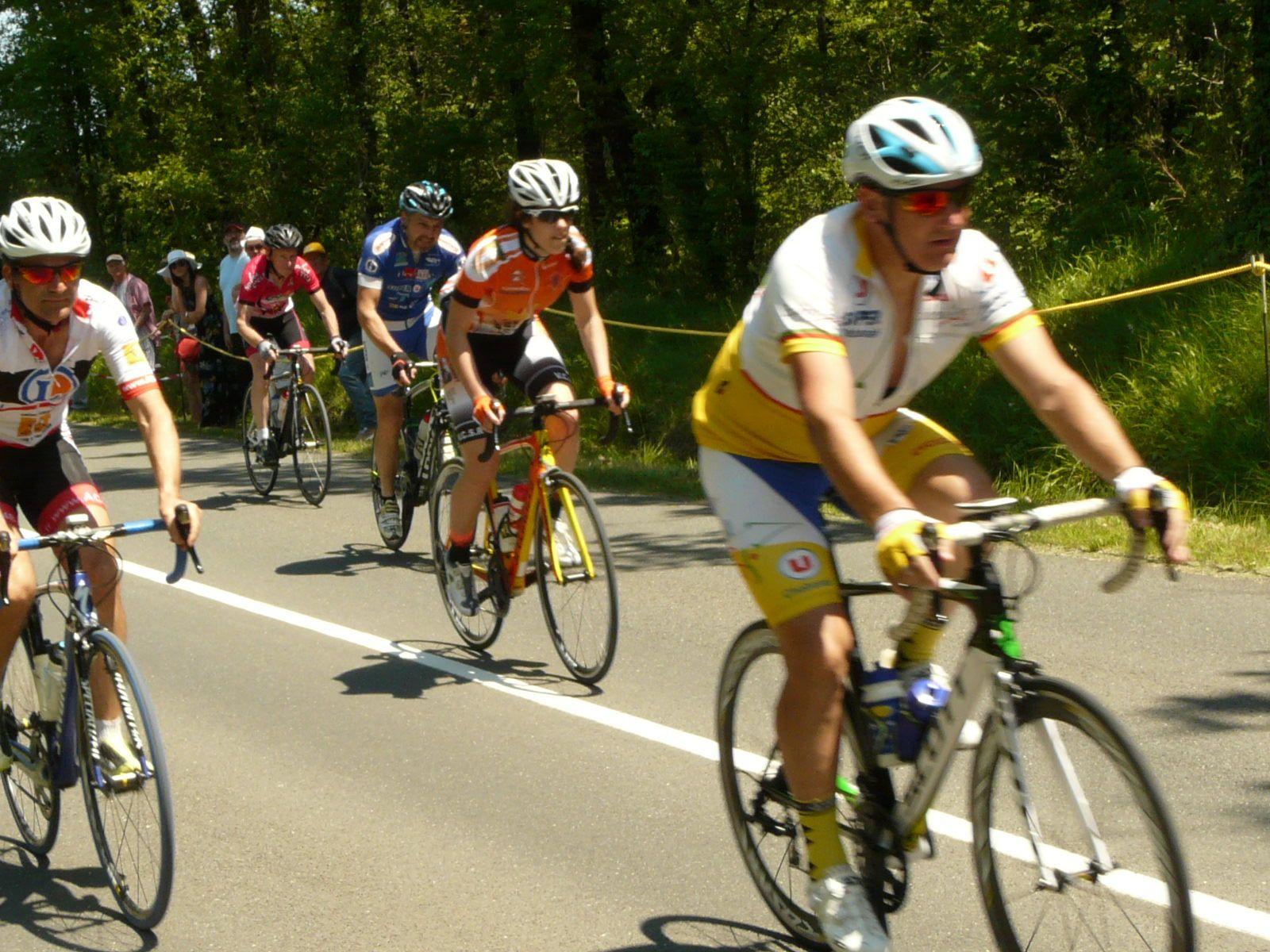 5 exideuillais au championnat départemental cyclosport UFOLEP et un podium