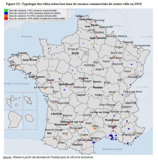 Le centre-ville d'Orange fait partie des plus désertifiés de France.