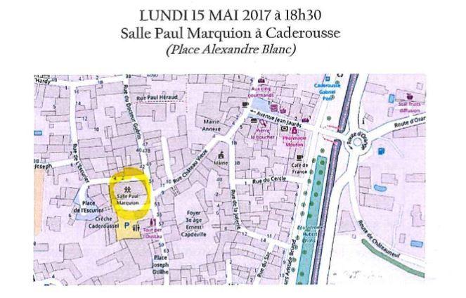 Conseil communautaire 15 mai 2017