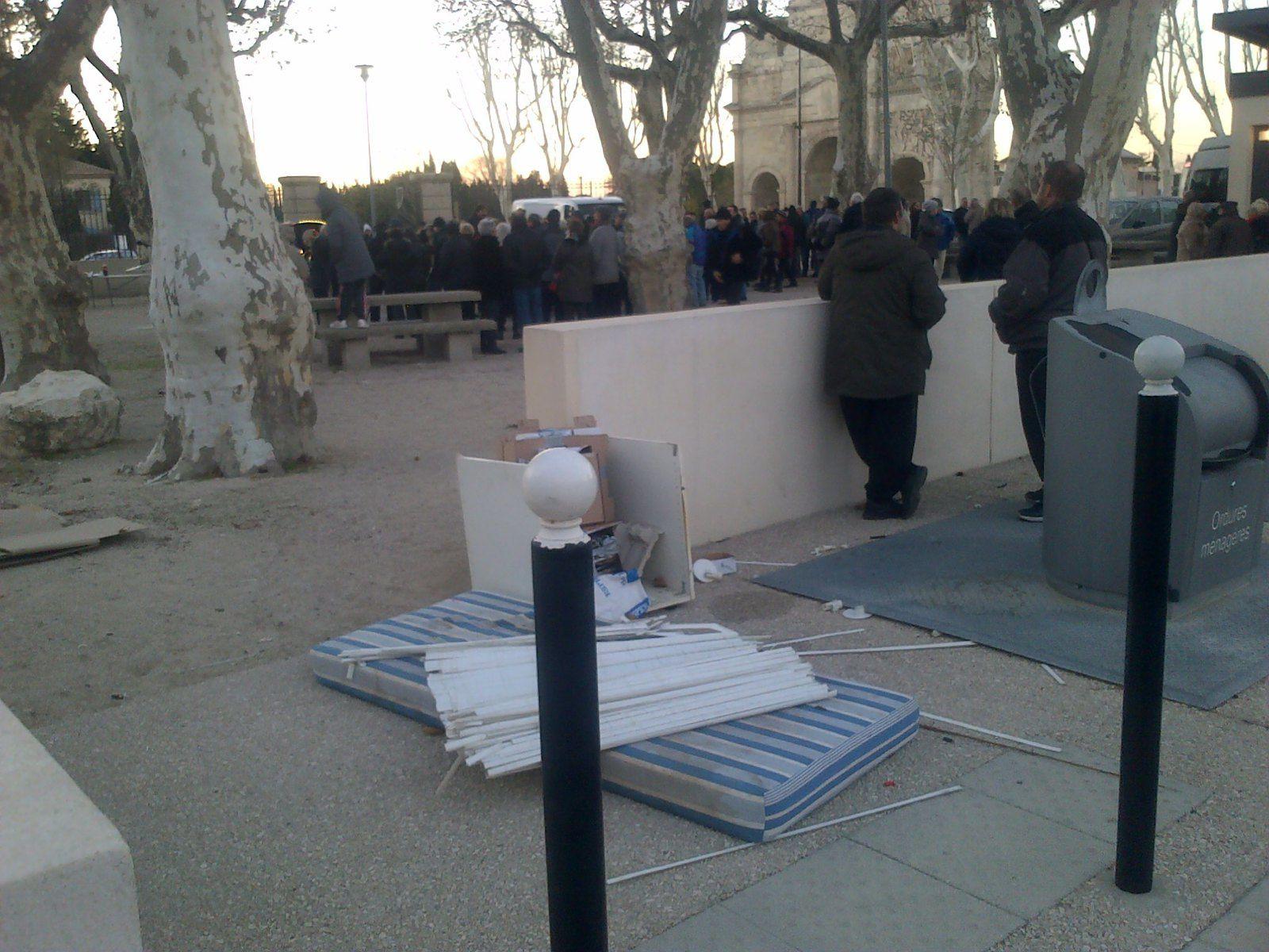 Inauguration de l'Arc de Triomphe