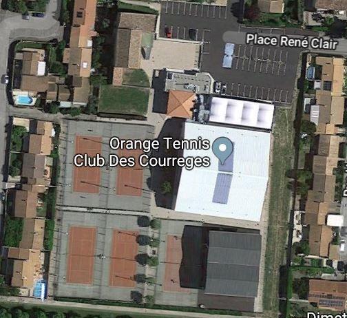 Club house du Tennis Club pas de merci: Une économie de ménage.