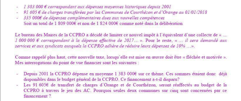 """La mise en oeuvre du nouvel """"Impôt GEMAPI"""", pose questions!"""