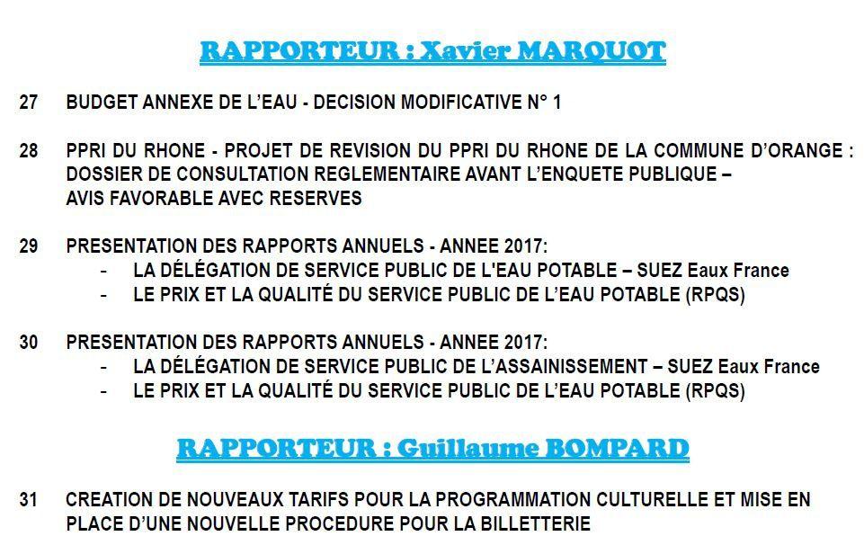 Conseil municipal du 29 juin 2018: 9h