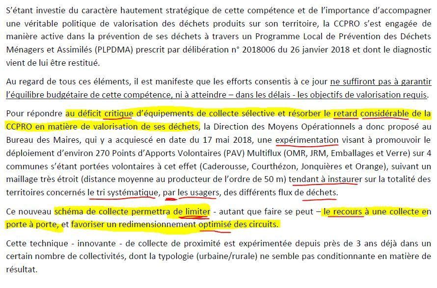 Déchets çà bouge: dernières délibérations = Vers une privatisation de la collecte, où ...?