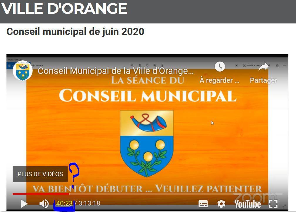 Demande d'annulation du conseil municipal du 17 juin 2020