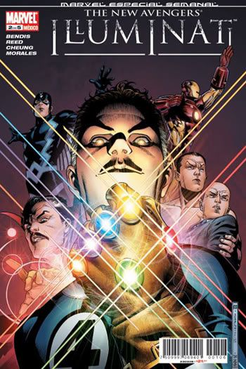 Où trouver les symboles: New Avengers Illuminati