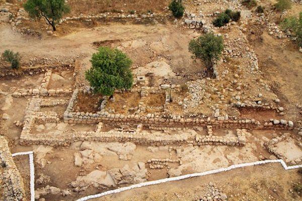 Objet biblique retrouvé ? Palais de David