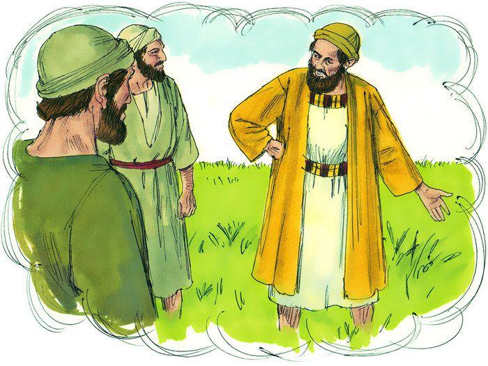 «Explique-nous la parabole de la mauvaise herbe dans le champ.»