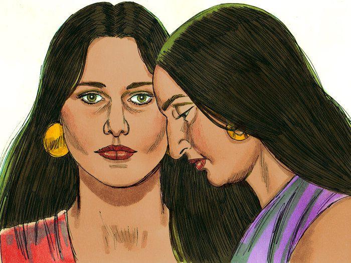 Rachel et Léa : Soeurs coépouses et rivales