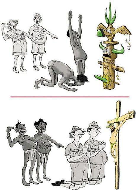 L'idolâtrie est partout, même chez les chrétiens à qui il a été expressément demandé de ne pas se prosterner devant une image ou une statue