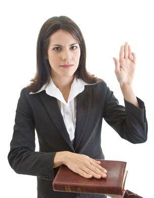 Les Dix Commandements : Tu ne comettras point de faux témoignage