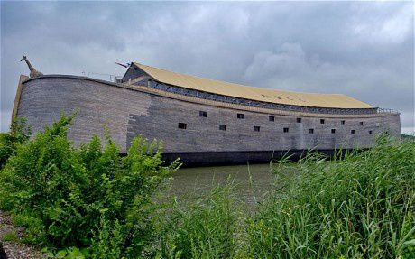 An artist's impression of Noah's Ark