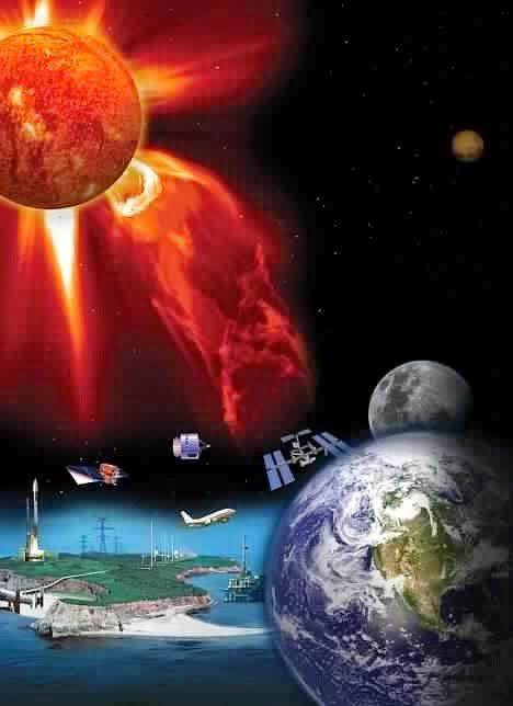 Depuis 10 jours, le soleil bombarde la Terre et ses réseaux de communications