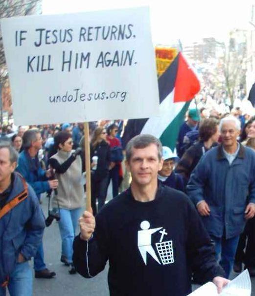 L'Apostasie prend un envol sans précédent : « Si Jésus revient, tuez-le une seconde fois »