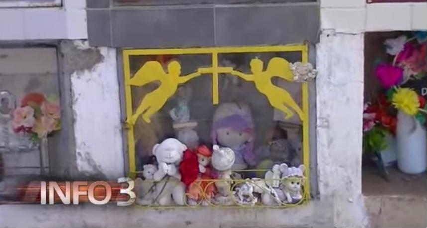 Argentine : Une poupée qui pleure dans un tombeau