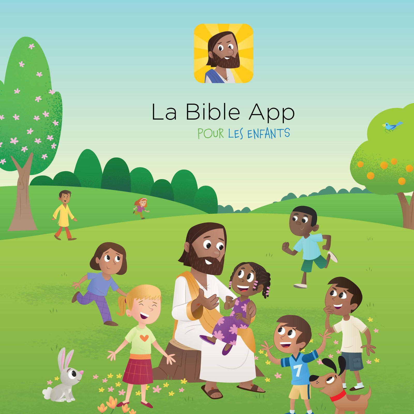 Multimédia : Une application d'une Bible pour enfants téléchargée 10 millions de fois