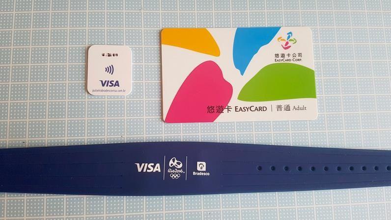 En attendant la marque ? : Visa lance un bracelet qui remplace la carte de paiement