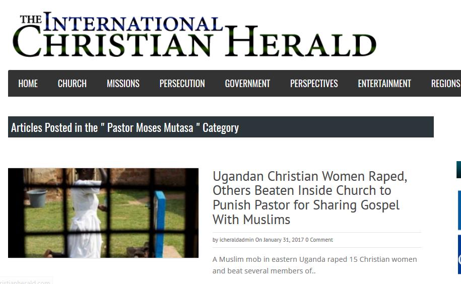 Ouganda : Des musulmans envahissent et violent 15 chrétiennes dans une église pour punir le pasteur !