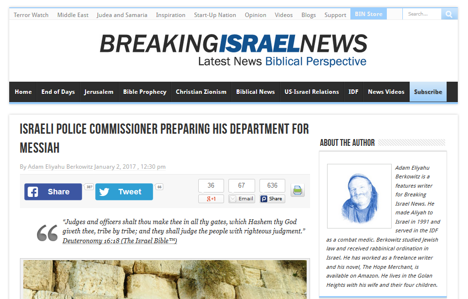 https://www.breakingisraelnews.com/81311/israels-law-enforcement-gearing-welcome-messiah/#181pvBA4fX6dwW1z.97